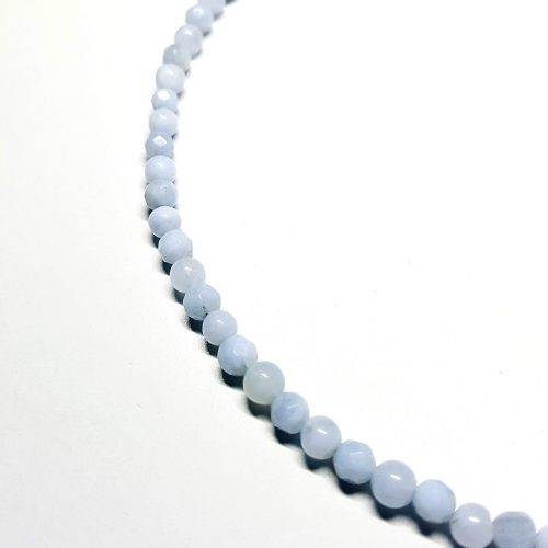Girocollo in Agata Blu Lace dai 1000 azzurri